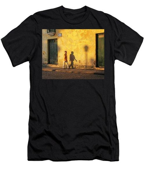 Shadow Walking Men's T-Shirt (Athletic Fit)