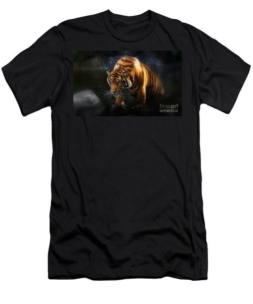Shadows And Light Men's T-Shirt (Slim Fit)