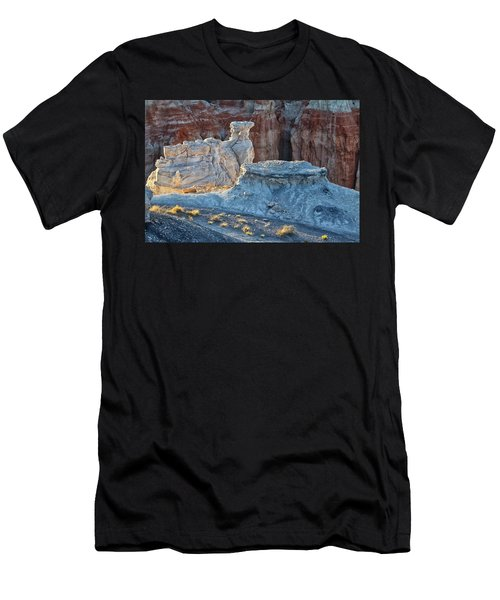 Shadows At Coal Mine Canyon Men's T-Shirt (Athletic Fit)