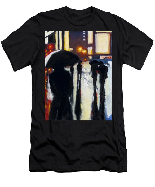 Shadows In The Rain Men's T-Shirt (Athletic Fit)