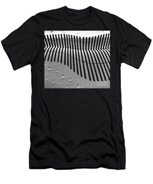 Shadows In The Sand Men's T-Shirt (Athletic Fit)