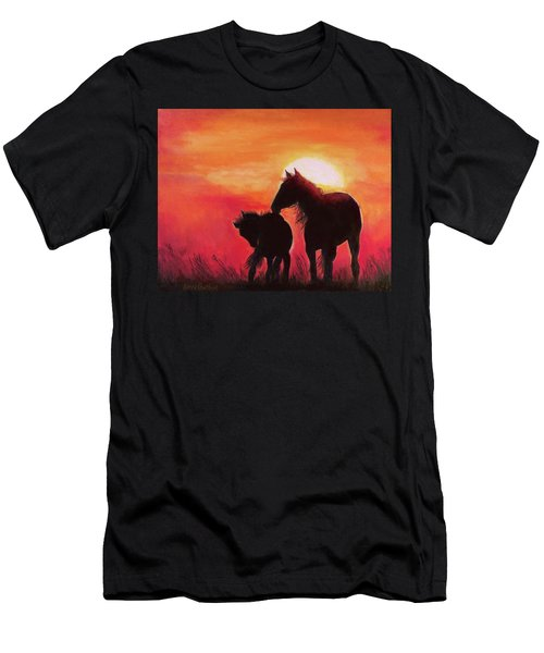 Shadows Of The Sun Men's T-Shirt (Athletic Fit)