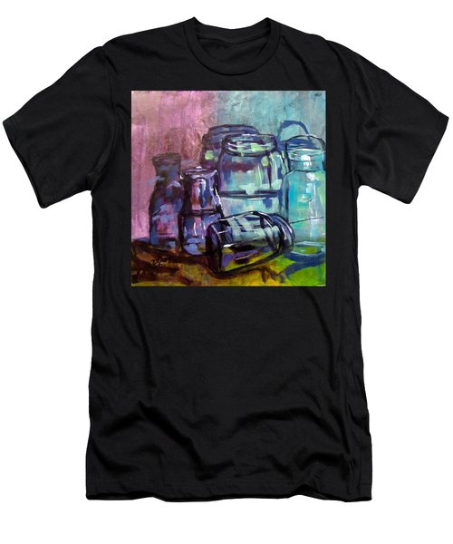 Shadows Through Glass Men's T-Shirt (Slim Fit) by Barbara O'Toole
