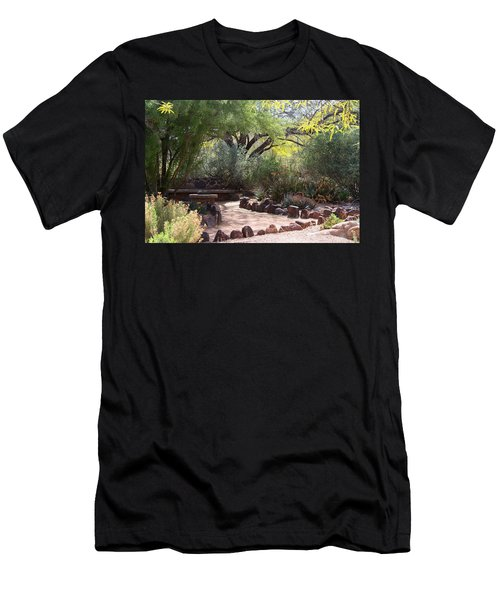 Shady Nook Men's T-Shirt (Slim Fit) by Kathryn Meyer