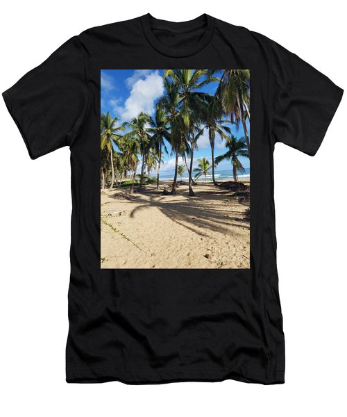 Shady Palm Men's T-Shirt (Athletic Fit)