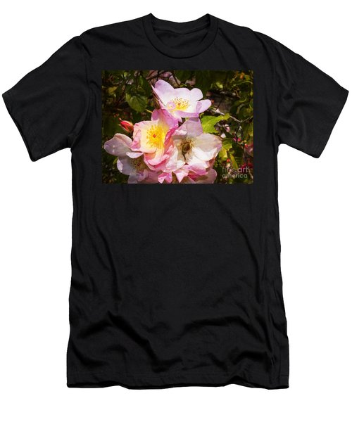Shakespeares Summer Roses Men's T-Shirt (Athletic Fit)