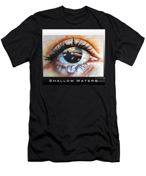 Shallow Waters  Men's T-Shirt (Athletic Fit)