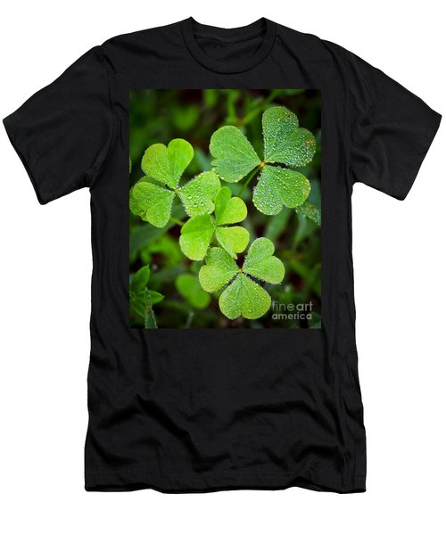 Shamrock Green Men's T-Shirt (Athletic Fit)