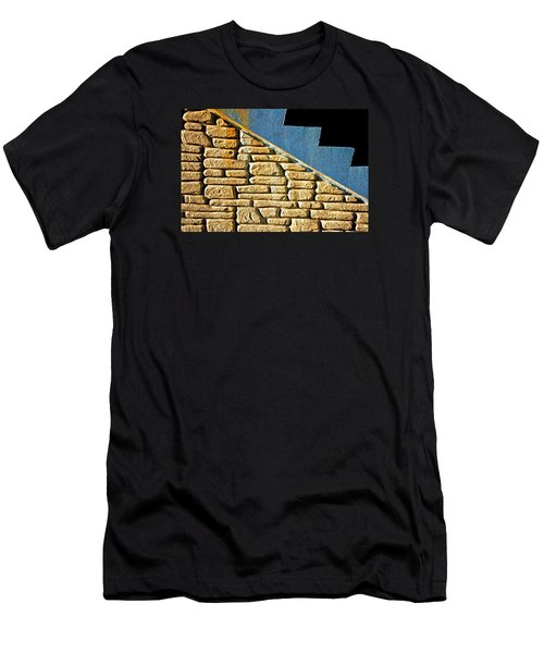 Shapes And Forms Of Station Stairway Men's T-Shirt (Slim Fit) by Gary Slawsky