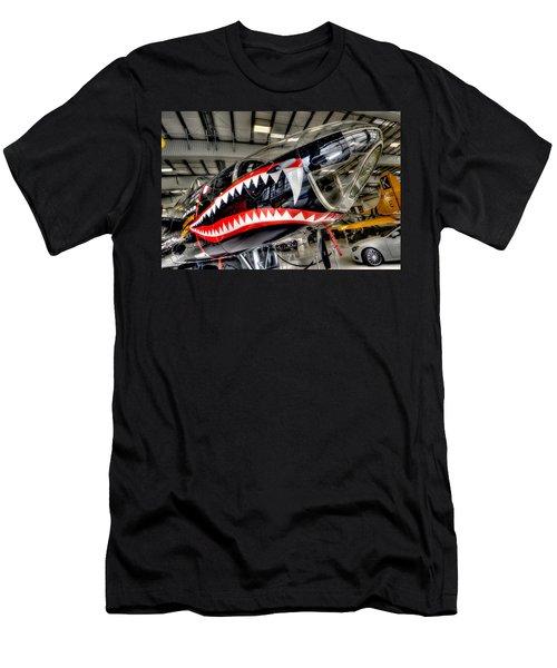 Shark Bite Men's T-Shirt (Athletic Fit)