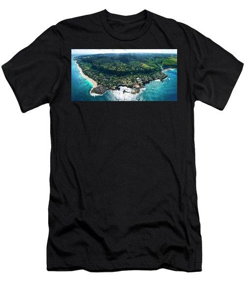Sharks Cove - North Shore Men's T-Shirt (Athletic Fit)