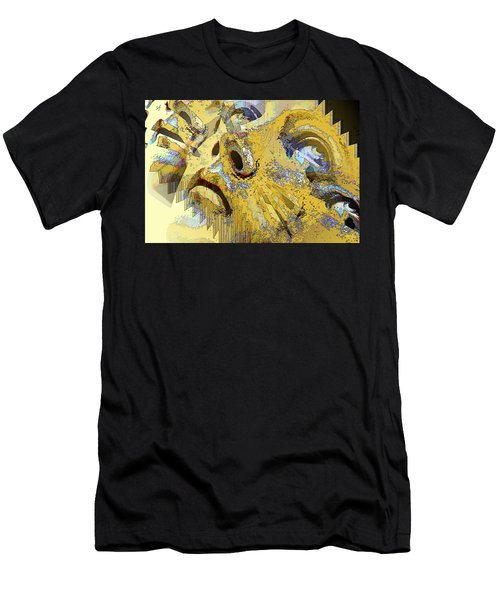 Men's T-Shirt (Athletic Fit) featuring the digital art Shattered Illusions by Shelli Fitzpatrick