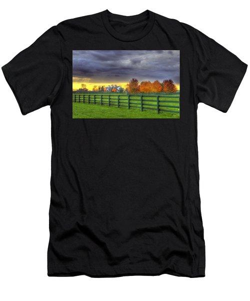 Shawanee Barn #2 Men's T-Shirt (Athletic Fit)