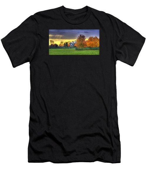 Shawanee Barn Men's T-Shirt (Athletic Fit)