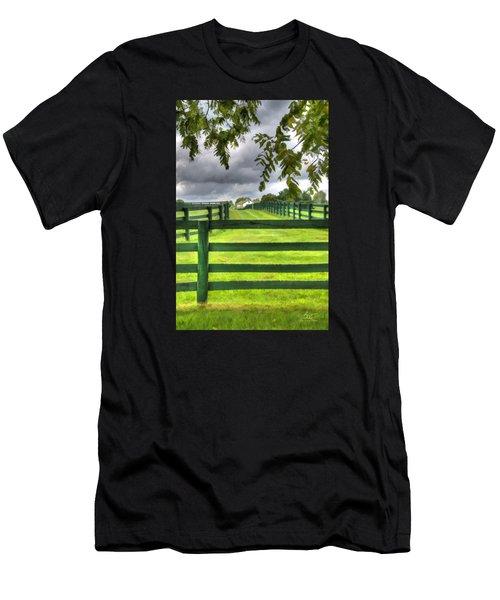 Shawanee Fences Men's T-Shirt (Athletic Fit)