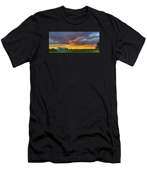 Shawanee Sunset Men's T-Shirt (Athletic Fit)