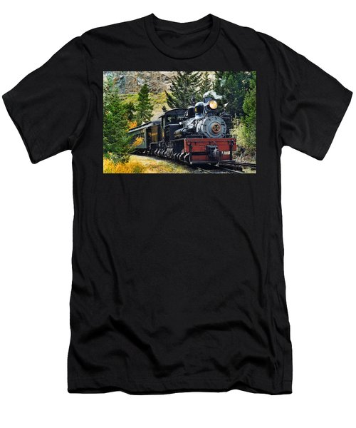 Shay On The Georgetown Loop Men's T-Shirt (Athletic Fit)