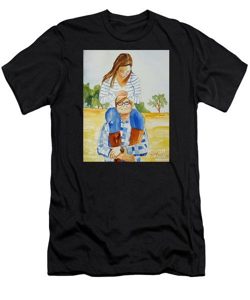 She Said Yes Men's T-Shirt (Athletic Fit)