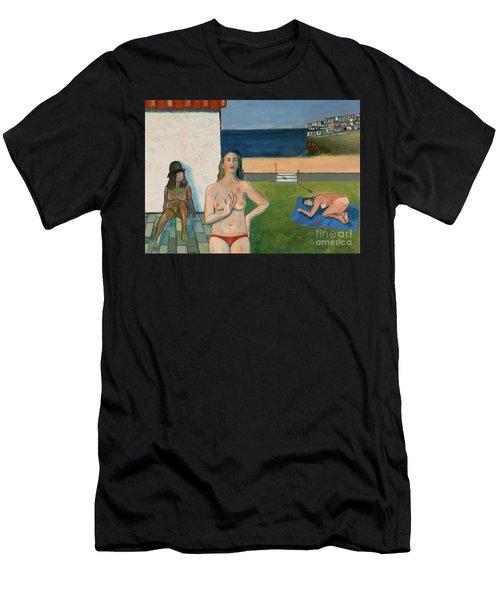 She Walks In Beauty Men's T-Shirt (Athletic Fit)