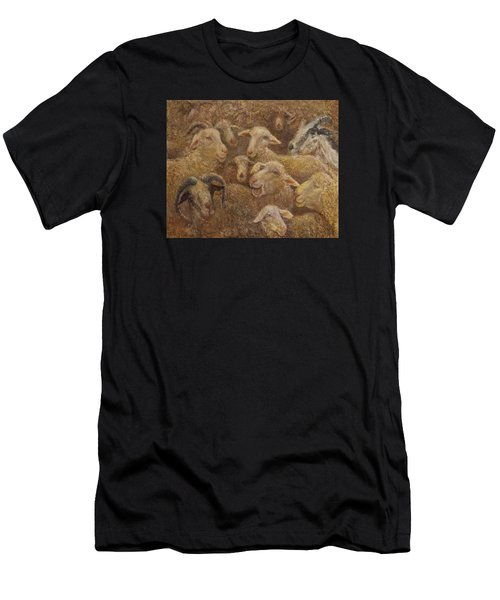 Sheep And Goats Men's T-Shirt (Athletic Fit)
