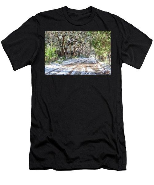 Sheep Farm - Snow Men's T-Shirt (Athletic Fit)