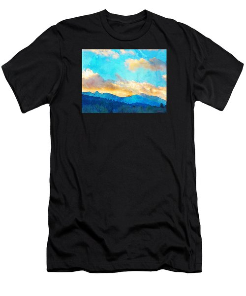 Sheeps Head And Truchas Peaks-predawn December Men's T-Shirt (Athletic Fit)