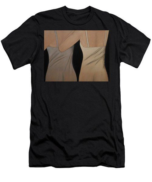 Sheer Men's T-Shirt (Athletic Fit)