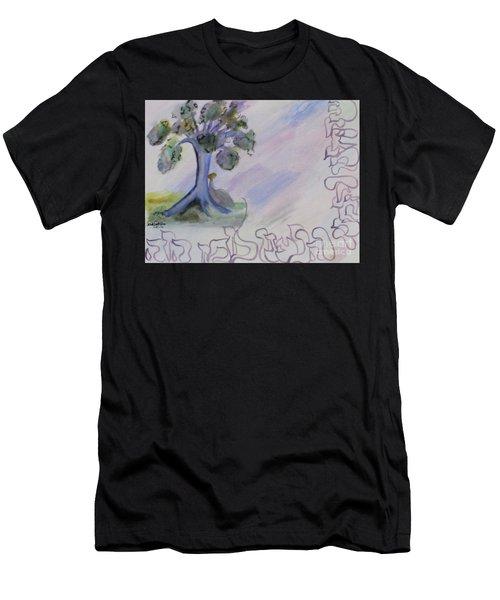 Shehecheyanu Men's T-Shirt (Athletic Fit)