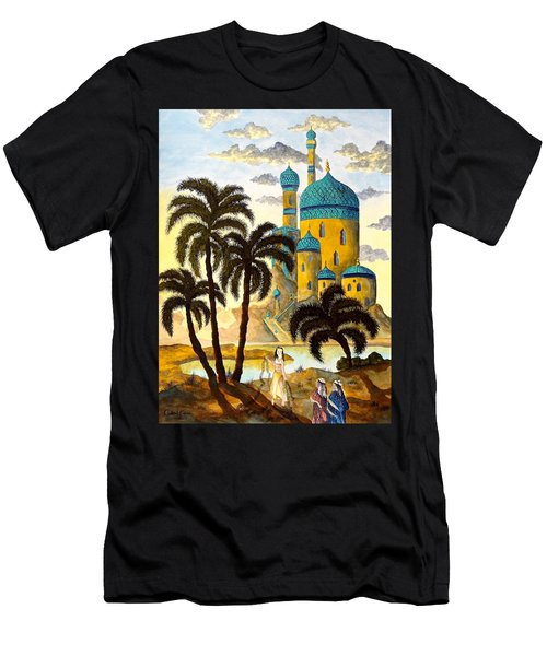 Shehriyar And Shahzeman Men's T-Shirt (Athletic Fit)