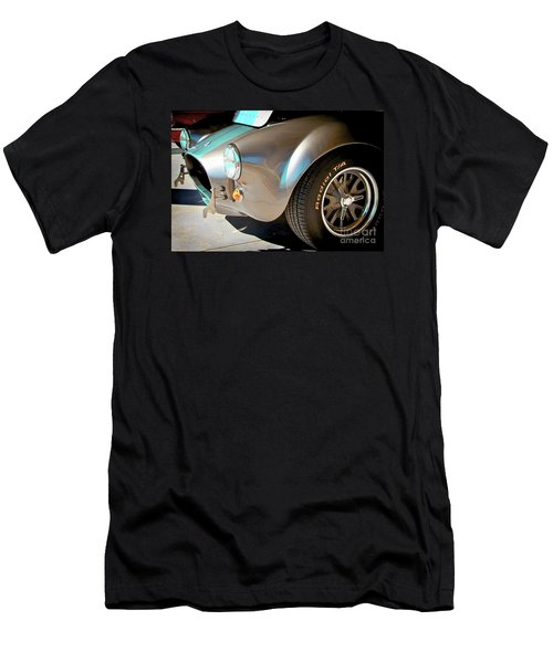 Shelby Cobra Abstract Men's T-Shirt (Athletic Fit)