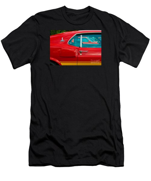 Red Shelby Mustang Side View Men's T-Shirt (Athletic Fit)