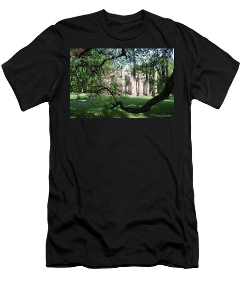 Sheldon Church 2 Men's T-Shirt (Slim Fit) by Gordon Mooneyhan