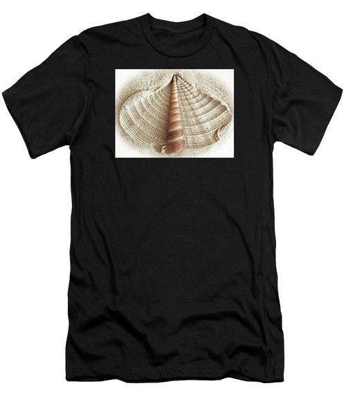 Shell In The Sand Men's T-Shirt (Athletic Fit)