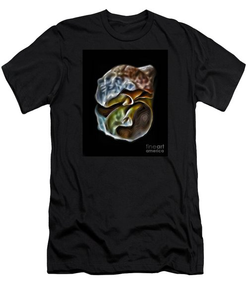 Shell On Mirror Men's T-Shirt (Athletic Fit)