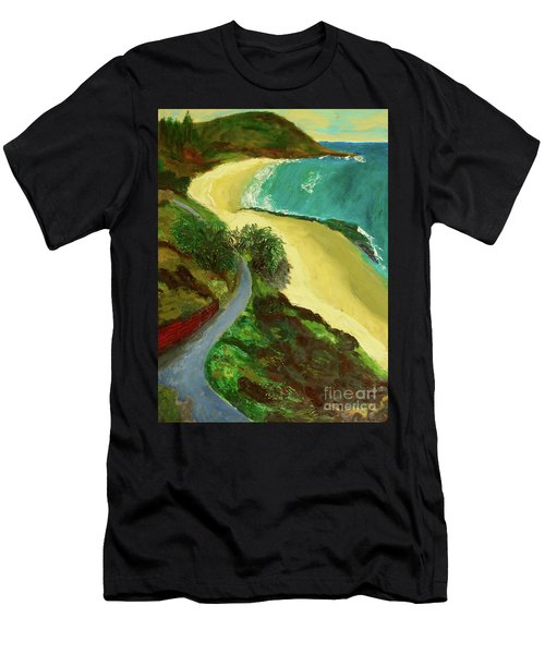 Shelly Beach Men's T-Shirt (Athletic Fit)