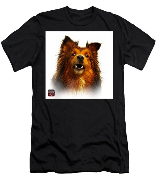 Sheltie Dog Art 0207 - Wb Men's T-Shirt (Athletic Fit)
