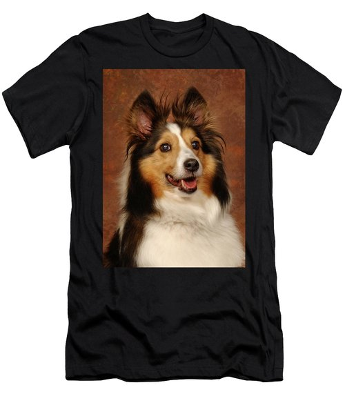 Sheltie Men's T-Shirt (Athletic Fit)