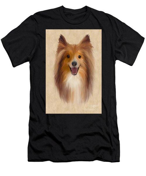 Sheltie Men's T-Shirt (Athletic Fit)