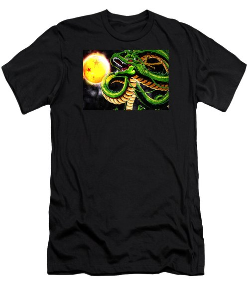 Shenron The Eternal Dragon Men's T-Shirt (Athletic Fit)