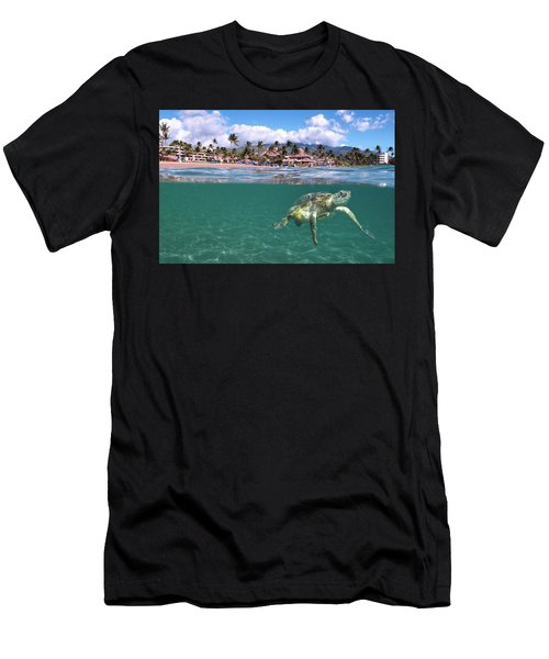 Sheraton Maui Men's T-Shirt (Athletic Fit)