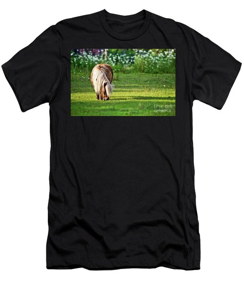 Shetland Pony Men's T-Shirt (Athletic Fit)