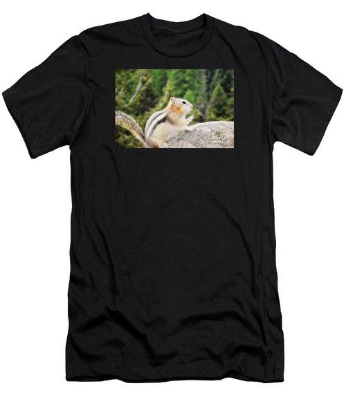 Shhhh Quiet Please Men's T-Shirt (Athletic Fit)