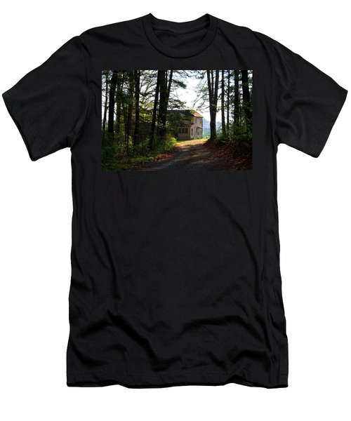 Men's T-Shirt (Slim Fit) featuring the photograph Shields Farm by Kathryn Meyer