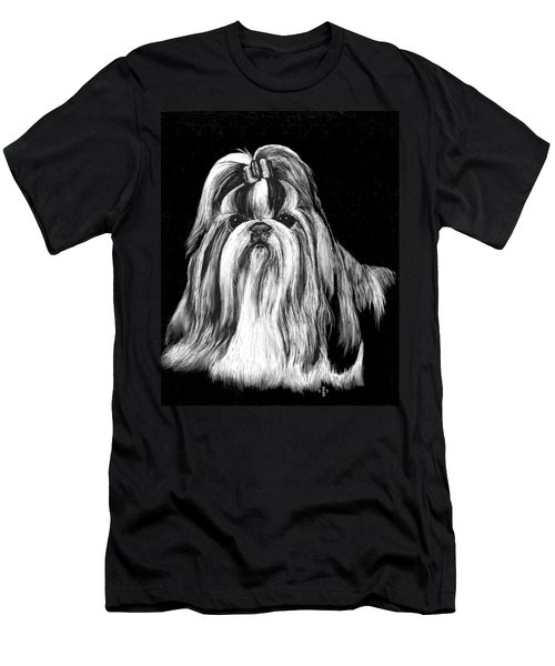 Shih Tzu Men's T-Shirt (Athletic Fit)