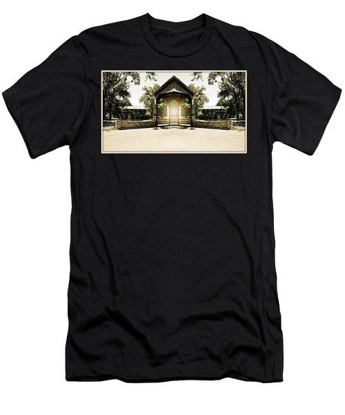 Men's T-Shirt (Slim Fit) featuring the photograph Shining Through by Roseann Errigo