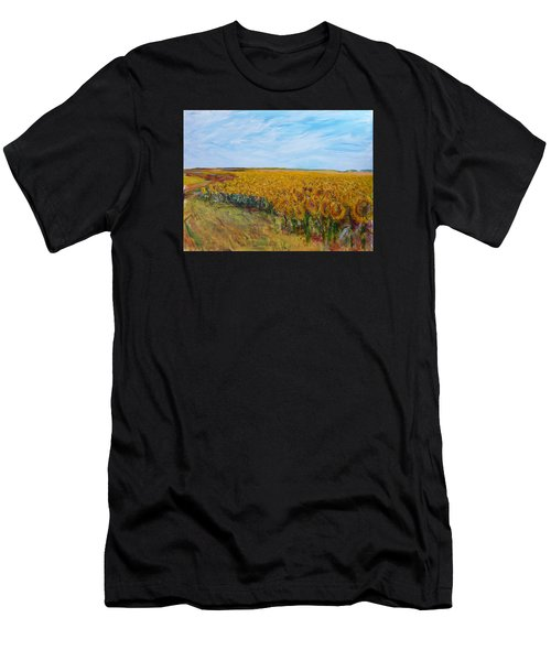 Sunny Faces Men's T-Shirt (Athletic Fit)