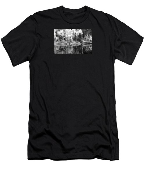 Shining Trees Men's T-Shirt (Athletic Fit)