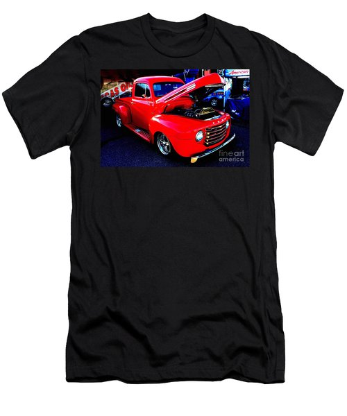 Shiny Red Ford Truck Men's T-Shirt (Athletic Fit)