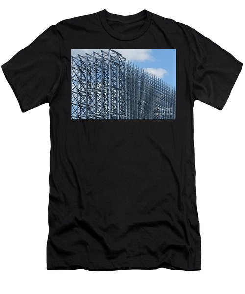 Shiny Steel Construction In Nature Men's T-Shirt (Athletic Fit)