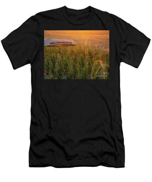 Ship Bottom Beach Patrol Men's T-Shirt (Athletic Fit)
